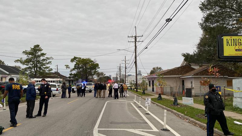 At least one person is dead after a triple shooting on the Westbank in Algiers.
