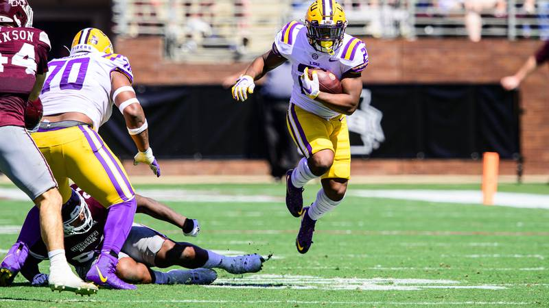 LSU has covered the spread in back-to-back games. (Source: Chris Parent)