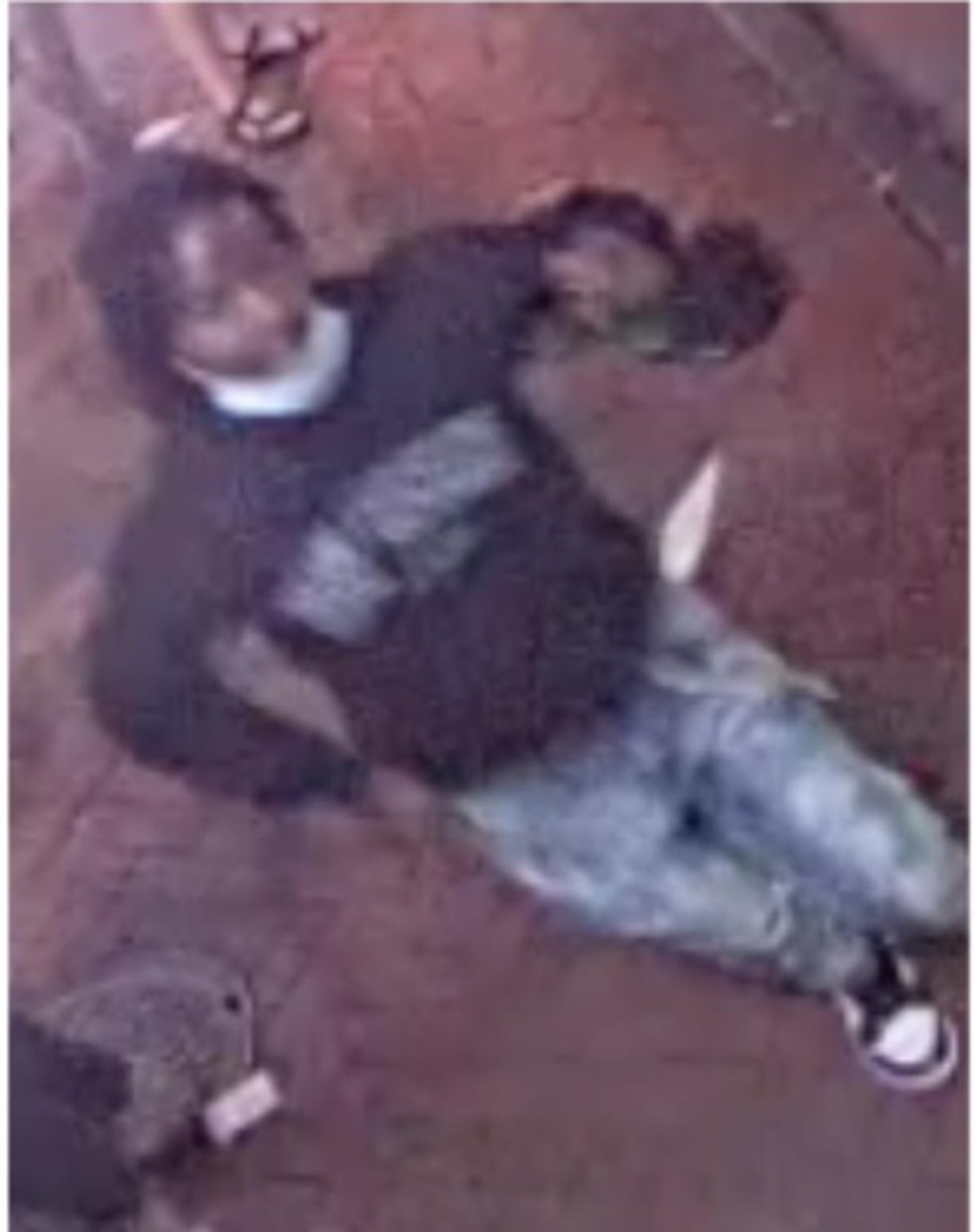 Police are looking to identify a man accused of shooting five people on Bourbon Street on...