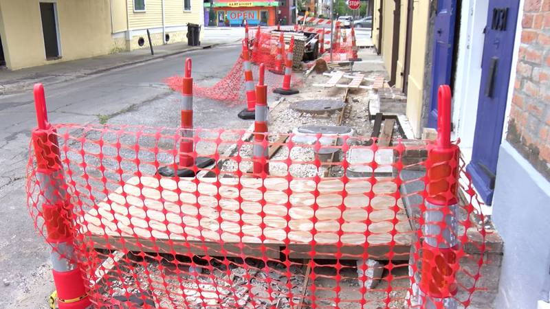 """Neighbors call a sidewalk repair project in the French Quarter a """"nightmare."""" In a FOX 8..."""