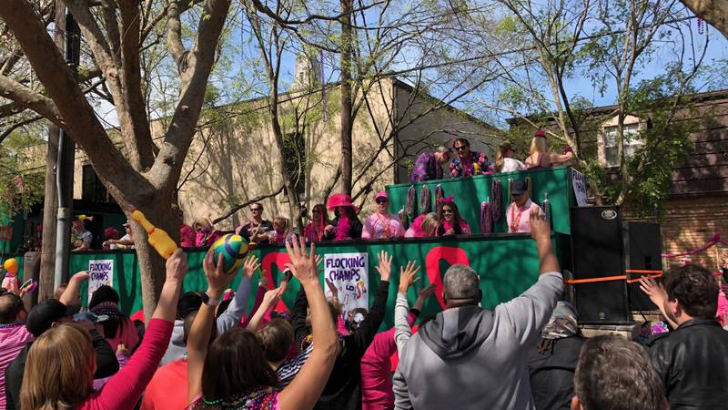 It was the 40th anniversary of one of Baton Rouge's biggest parades as tens of thousands of...