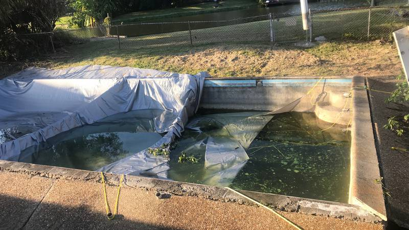 Longtime nuisance pool should have been filled by the City according to the City Code