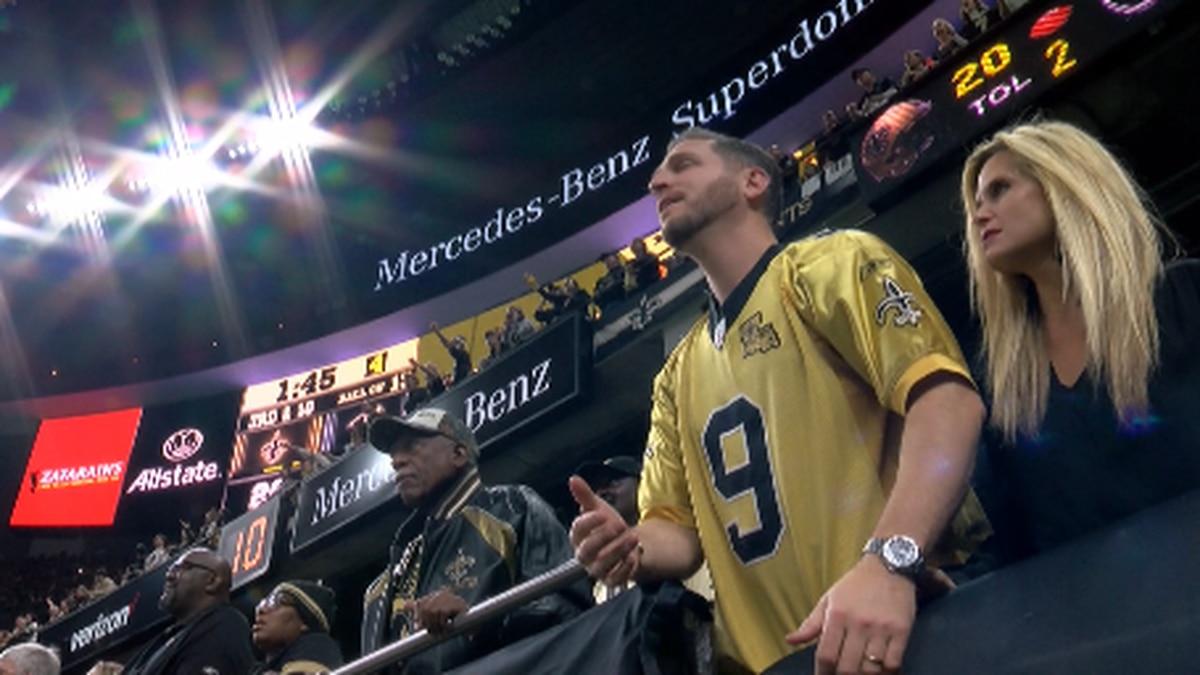 Saints fans (FOX 8 photo)
