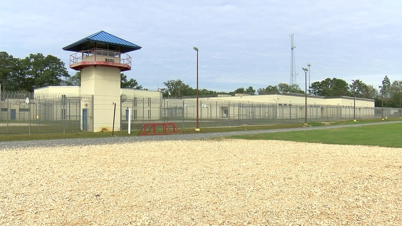 The St. Tammany Parish Jail in Covington seen in an undated file photo.