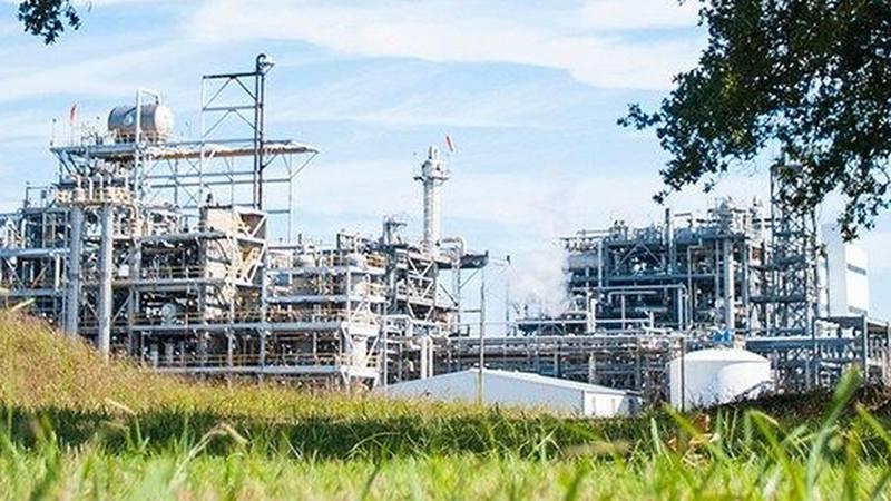 BASF facility in Geismar