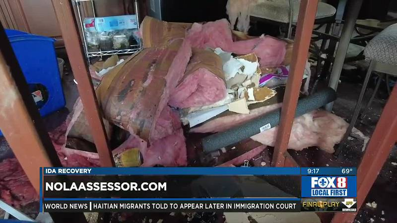 Hurricane Ida-related damage assessments NOLA