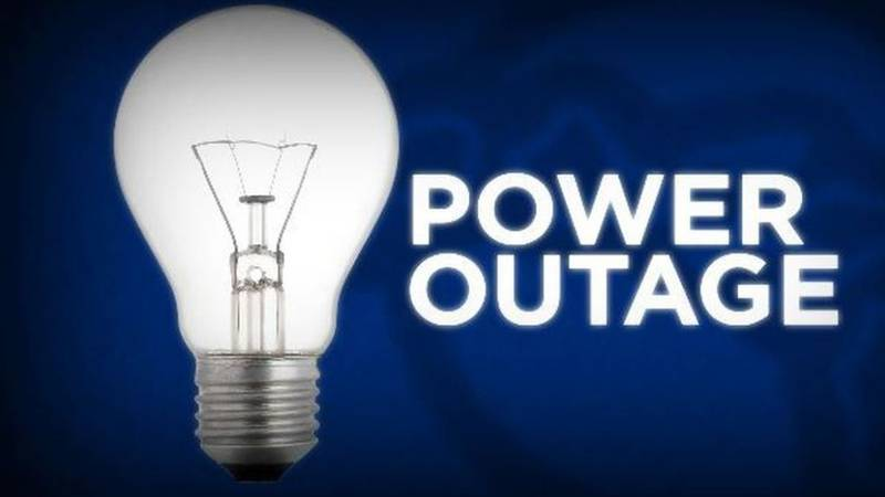Power outages reported across Hawaii Island.