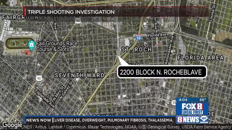 Triple shooting in Seventh Ward