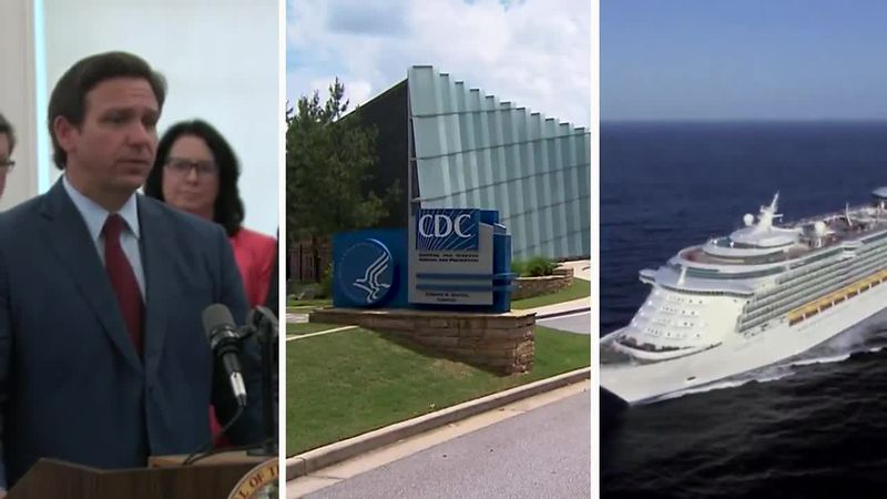 Royal Caribbean will not require vaccinations for its sailings from Texas or Florida amid a...