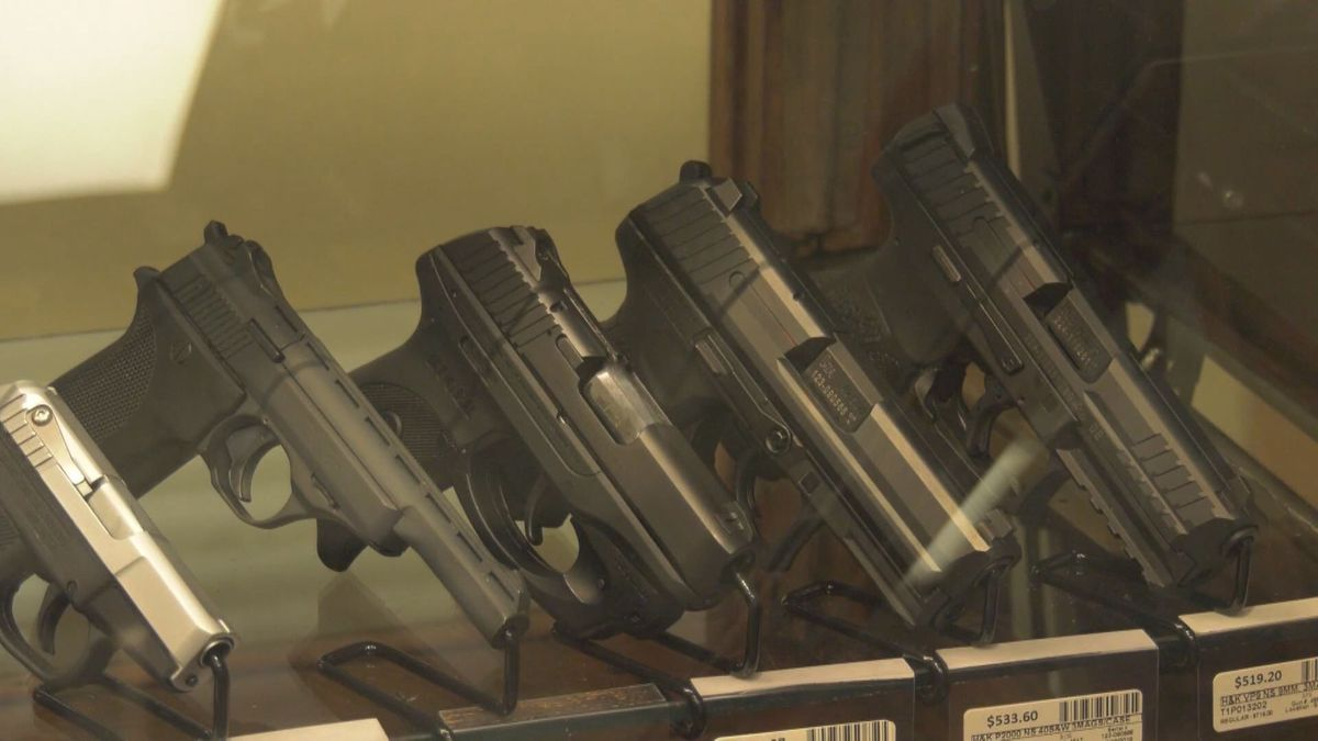 Concealed carry permits for handguns must now be completed 100% in-person.