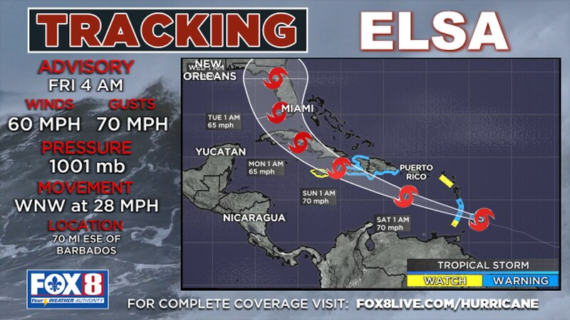 Florida and the eastern Gulf of Mexico are included in the long-range forecast path for...