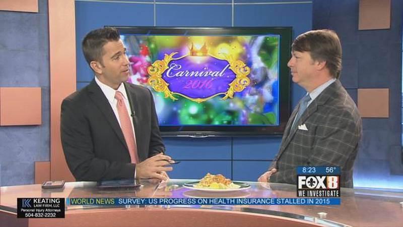 Mardi Gras Table Auction at Galatoire's - Interview