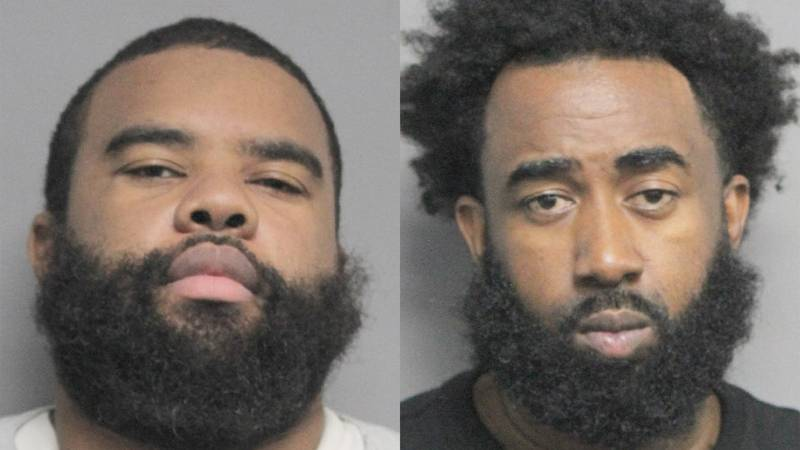 Zetonio Lightfoot (left) and Lee Williams (right) were arrested in connection with a cold case...