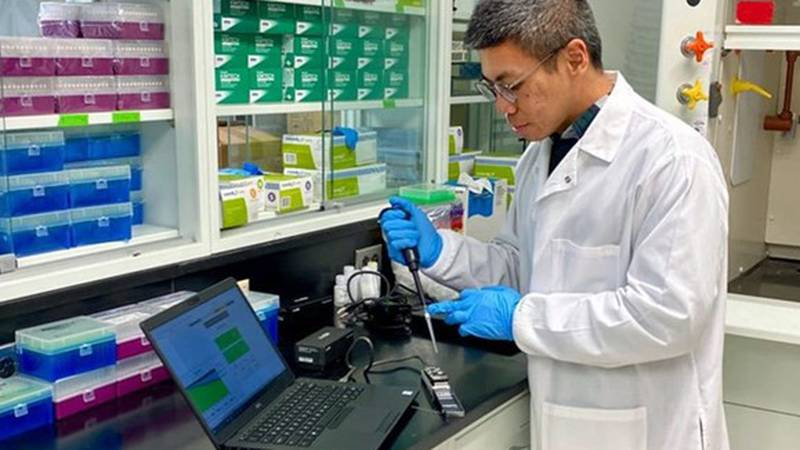 Tulane microbiologist Tiong Aw was awarded a $1.24 million grant from the federal Environmental...
