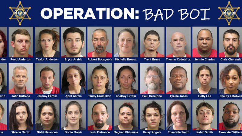 More than 30 people were arrested in a drug operation that started in 2020.