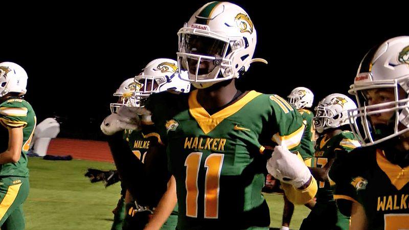 Walker wide receiver Brian Thomas Jr. (11)