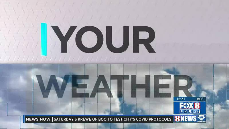 Afternoon weather update for Thurs., Oct. 21