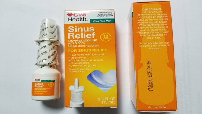 A voluntary recall of nasal spray sold at CVS has been expanded, and is now including baby oral...