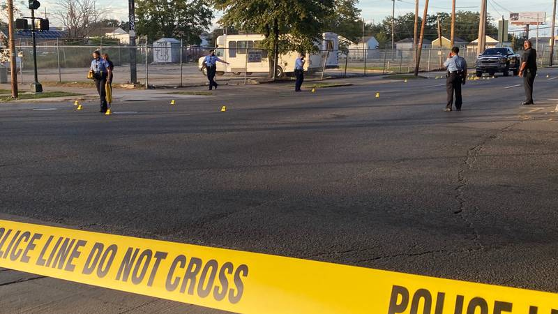 Three people were injured in a shooting at the intersection of North Claiborne Avenue and Canal...