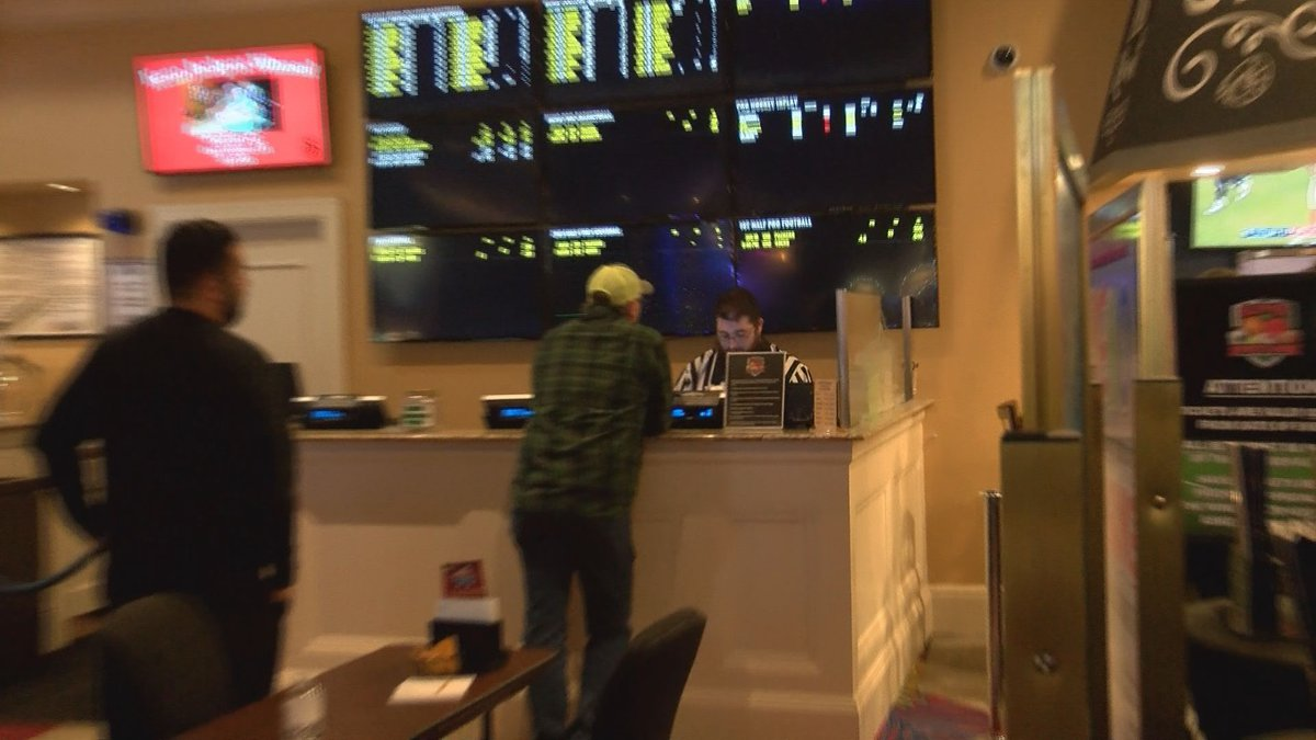 The Silver Slipper Casino in Waveland saw steady business Sunday at the sports book counter as...