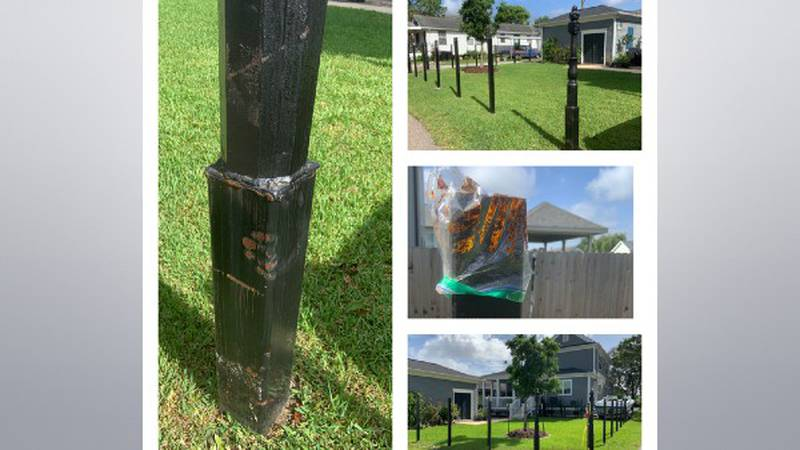 Lisha and Rob Fink signed a contract with a local fence company to install an iron fence around...
