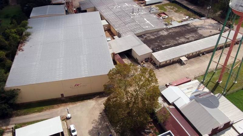 A warehouse facility in the Tangipahoa Parish town of Independence served as an evacuation...