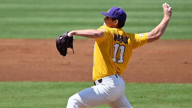LSU pitcher Landon Marceaux