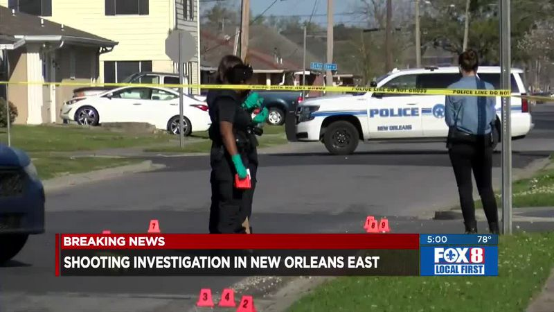 Shooting investigation in New Orleans East