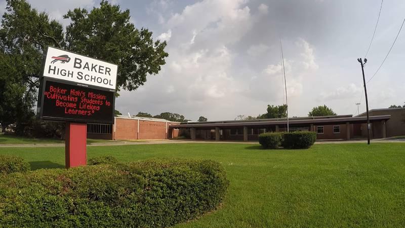 WAFB file photo Baker High School in Baker, La.