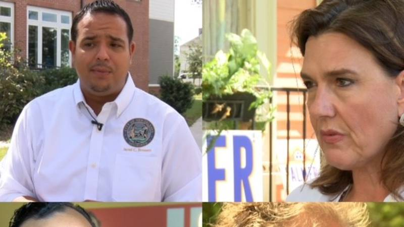 Three Democrats and one Green Party Member are running for the N.O. City Council-at-Large Div....