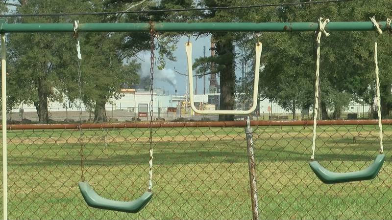 Neighbors surrounding the Exxon refinery in Baton Rouge have long complained about the smell...