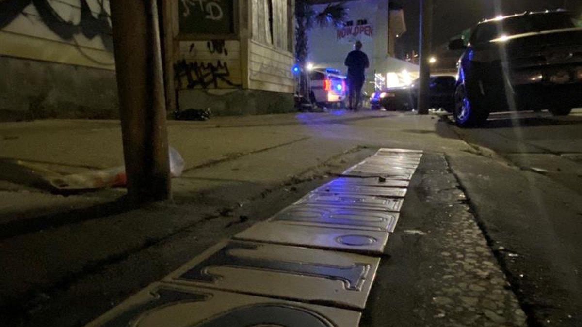 Shooting death on St. Bernard Ave.