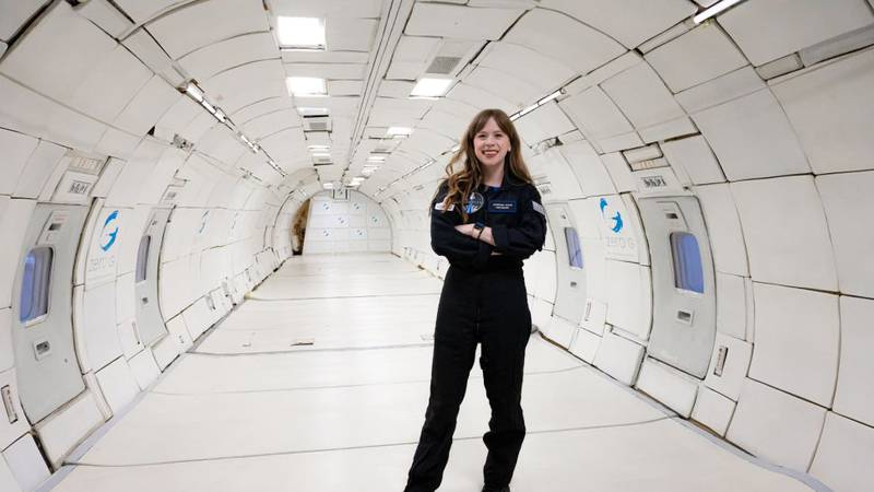 On Sept. 15, 2021, Haley Arceneaux will become the youngest American to travel to space, as...