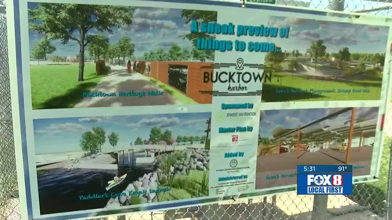A major transformation is about to get underway for a large portion of the Metairie Lakefront.