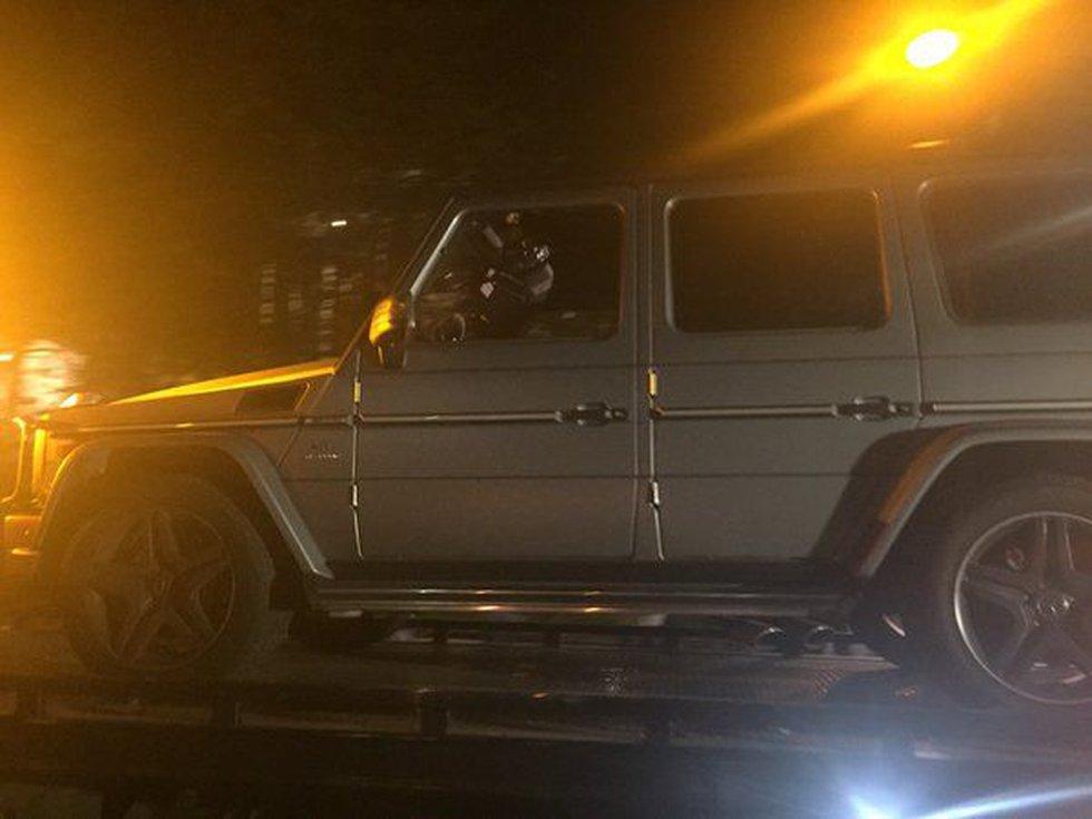 Will Smith's car taken away