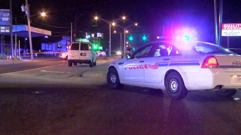 Six people were shot in the 3800 block of Hearne Avenue on Sunday, April 18, 2021, the...