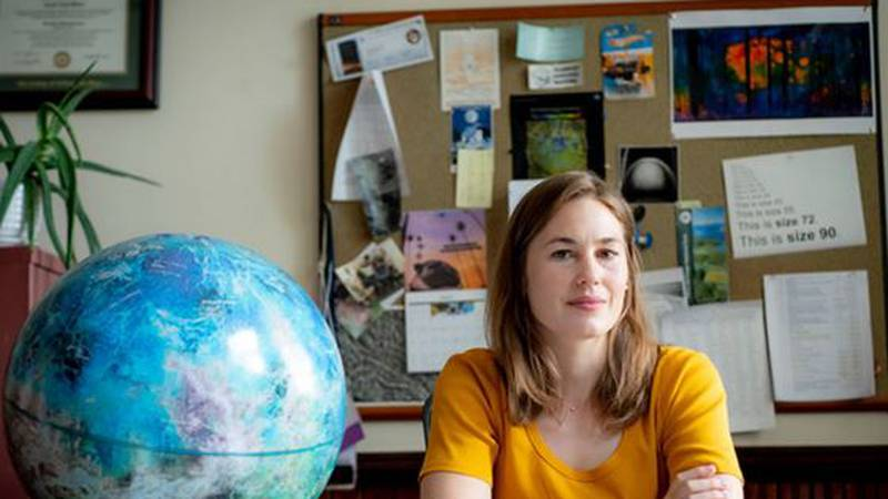 Jennifer Whitten, a planetary scientist in the Tulane Department of Earth and Environmental...