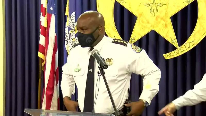 NOPD News Conference on Weekend Violent Crime Incidents