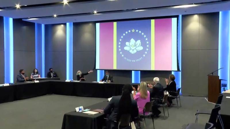 Mississippi to vote on final flag design in November