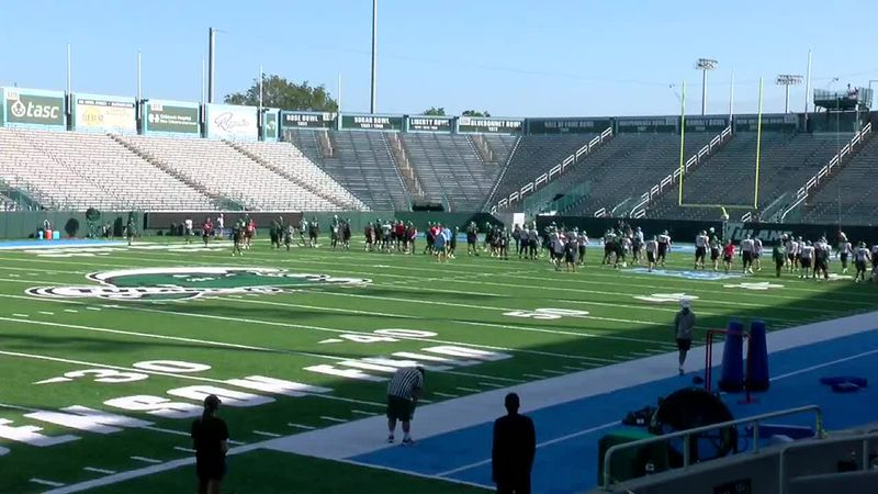 Tulane keeps testing and practicing with opener almost here