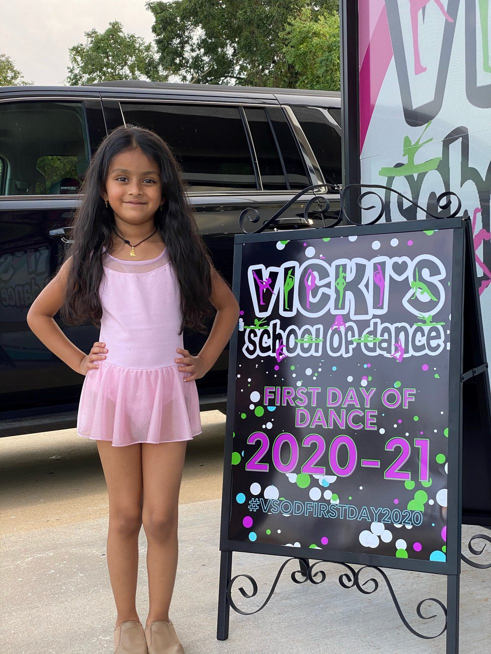 Mya Patel, 5, died after being hit by a stray bullet while at a motel on Monkhouse Drive in...