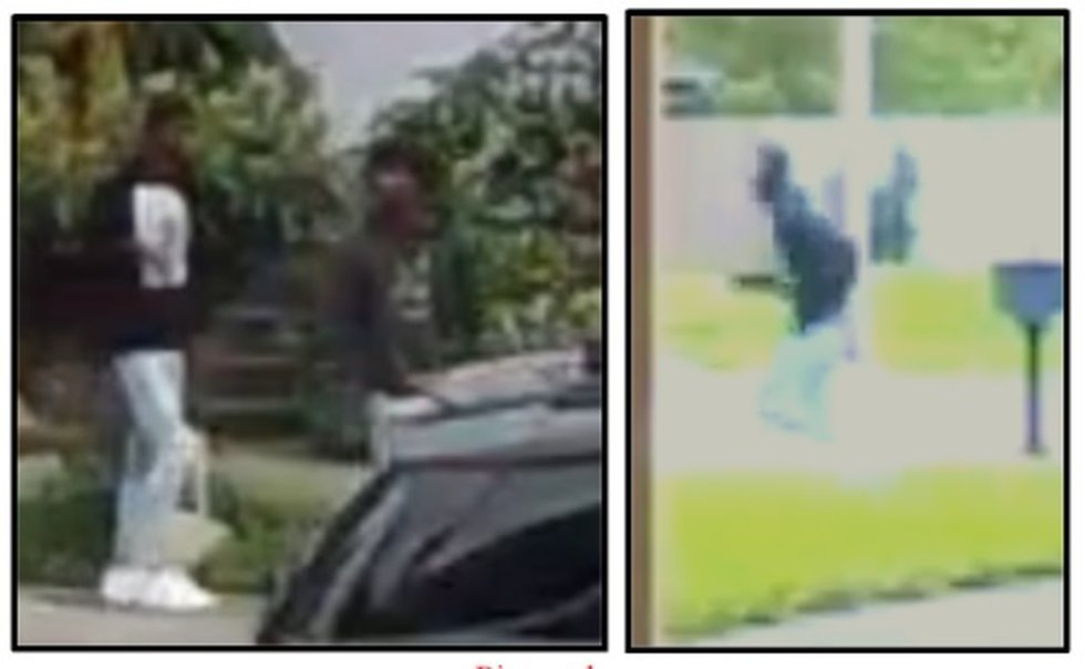 Police are asking for the public's help identifying two suspects in an attempted carjacking...