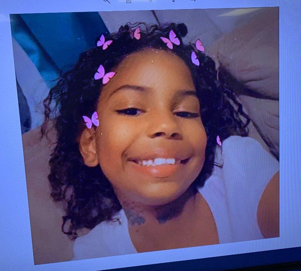 8-year-old Treyce Bryant
