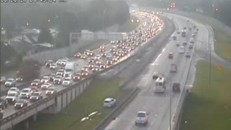Heavy congestion on westbound Interstate-10 in Metairie already was apparent Saturday before 7...
