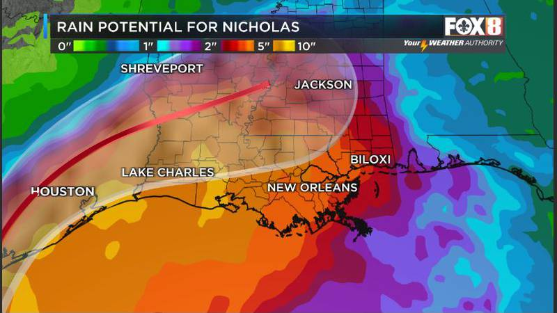 Rain from Nicholas coming;Protect exposed rooftops