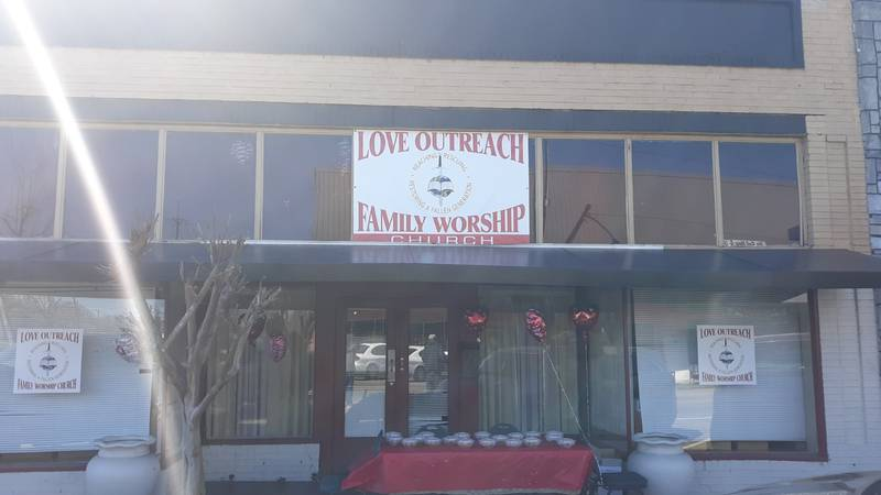 Love Outreach Family Worship Church is volunteering to host the event that will be from 10 a.m....