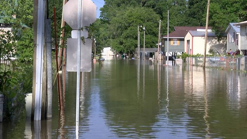 Livingston Parish residents are still dealing with floodwaters after severe storms that began...