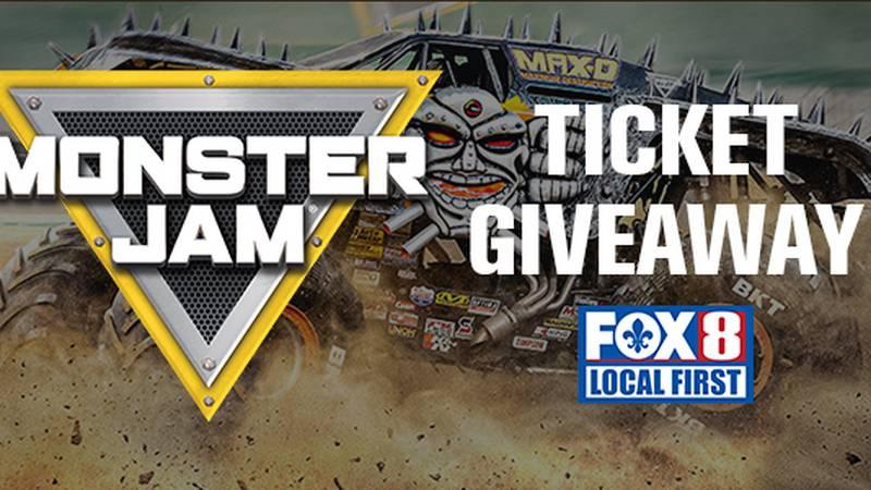 Monster Jam Ticket Giveaway