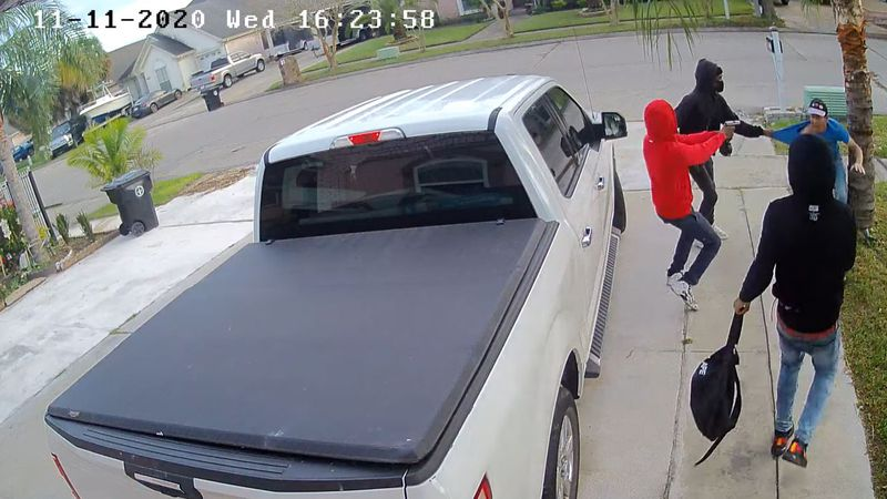 New Orleans Police are searching for three suspects after a man was assaulted and robbed of his...