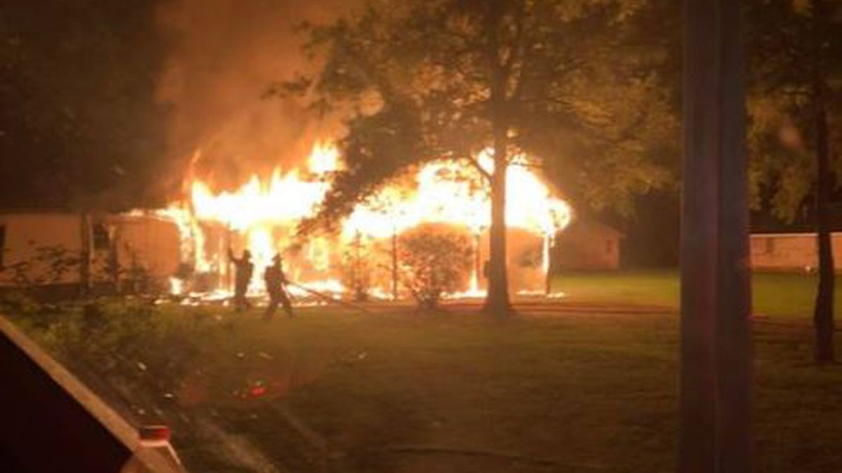 Hammond Firefighters responded to a house fire off Old Covington Hwy. One person was found...